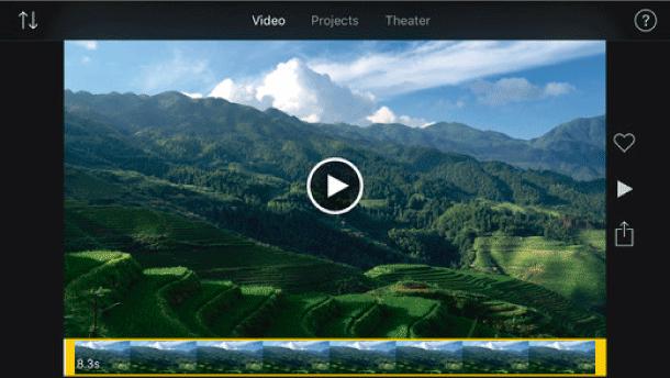 imovie programa para retocar videos