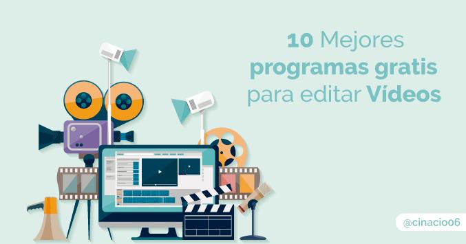 El Blog de Claudio Inacio - 10 programas gratuitos para editar vídeos que quizás no conozcas