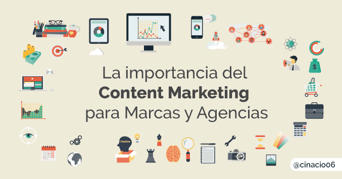content marketing para marcas y agencias
