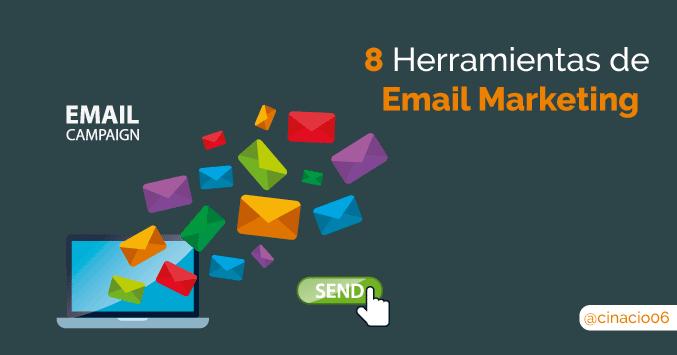 El Blog de Claudio Inacio - 8 Herramientas de email marketing para enviar tus newsletters que quizás desconozcas