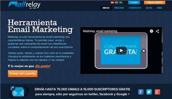 mailrelay herramientas de email marketing