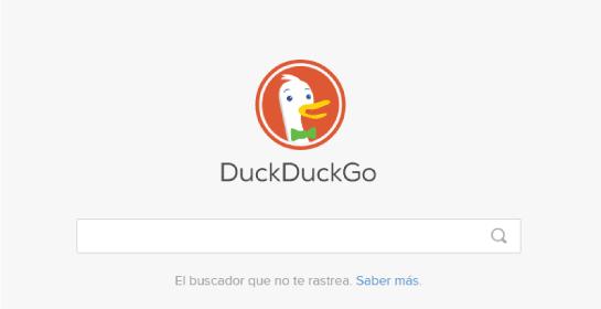 buscadores web, motores busqueda DuckDuckGo