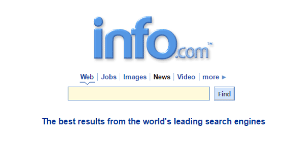 buscador web Info