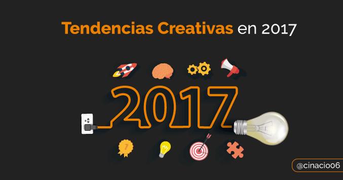 tendencias creativas 2017 por shutterstock
