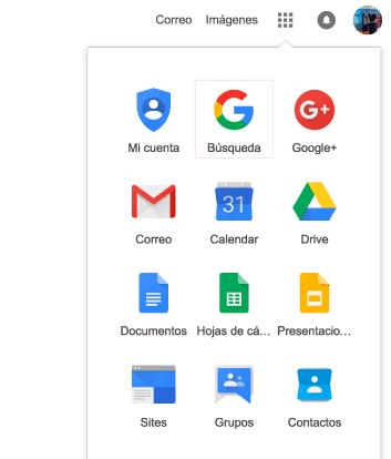 crear una cuenta Gmail - acceder a gmail