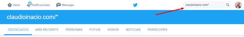 utilizar el buscador de twitter para encontrar potenciales seguidores