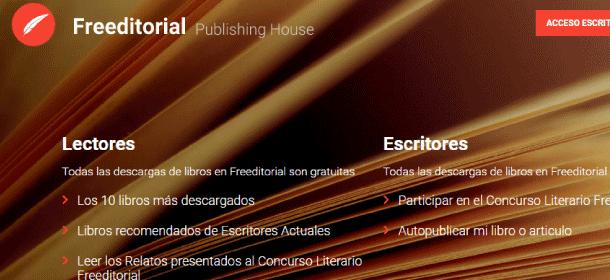 Freeditorial sitios web para descargar libros pdf gratis en español completos