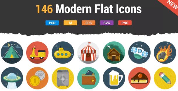 iconos de calidad en envato elements