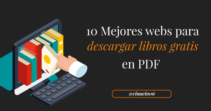 El Blog de Claudio Inacio - ¿Dónde conseguir libros gratuitos en PDF? Los 10 Mejores sitios para descargar libros gratis en pdf