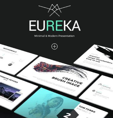 Eureka plantilla de powerpoint