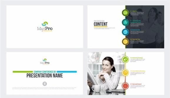 MaxPro powerpoint