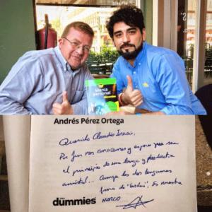 Con Andres Perez Ortega