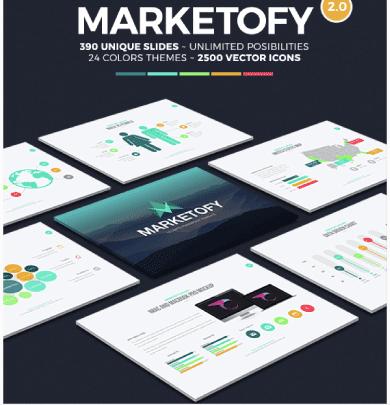 Marketofy PPT template
