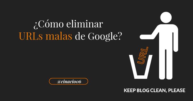 El Blog de Claudio Inacio - Y sí un día hackean tu blog, ¿Sabes cómo eliminar las 10.000 URLs malas que apuntan a tu sitio web?