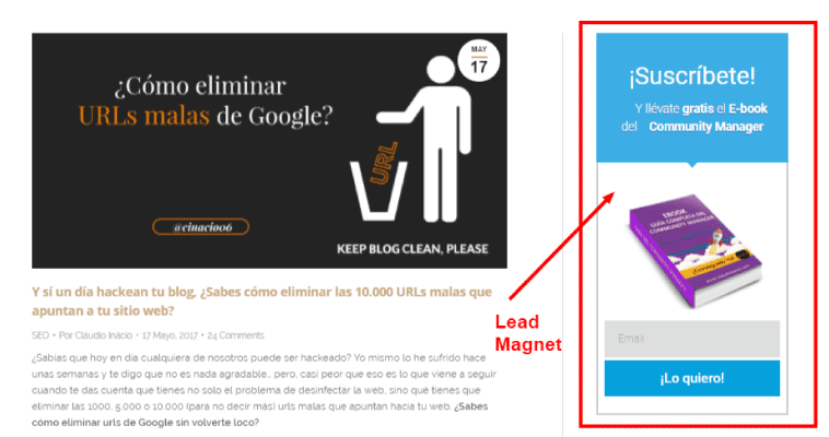 lead magnet - tips de email marketing