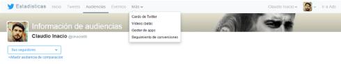 twitter cards opción eliminada de twitter analytics