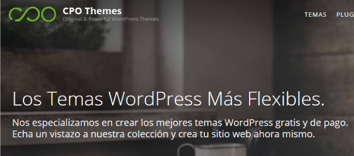 CPO themes gratis en WordPress