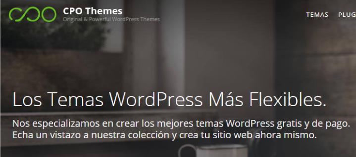 CPO themes gratis en WordPress