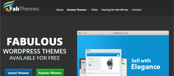 Fabthemes para bajar plantillas wordpress gratis