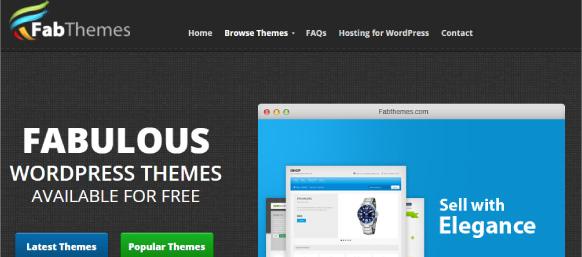 Fabthemes para bajar plantillas wordpress gratis