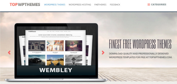 TopWPThemes plantillas wordpress gratuitas
