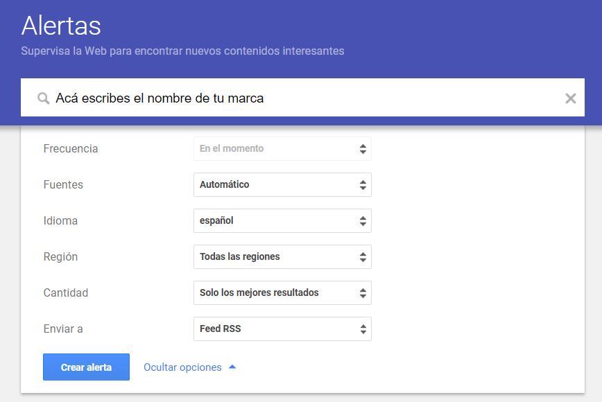 Google Alerts como herramienta para una estrategia social selling