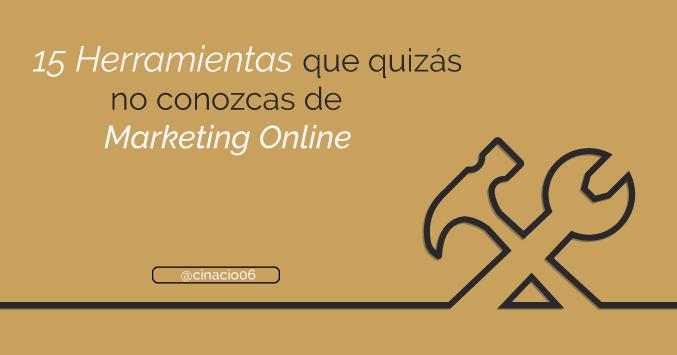 El Blog de Claudio Inacio - 11 + 4 Herramientas de Marketing Online que están petando en 2017 y que quizás no conozcas