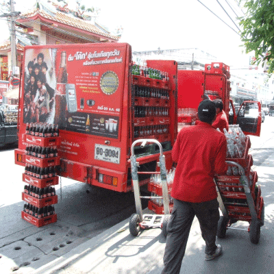 transportador de bebidas