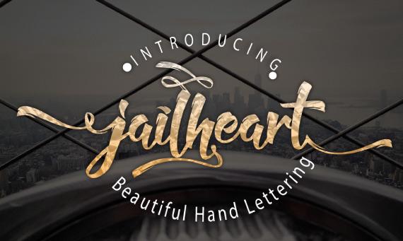 tipografia Jailheart