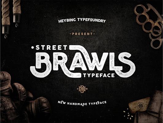 Brawls Typeface font