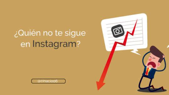 Cómo saber quién no me sigue en Instagram con la app IG Analyzer