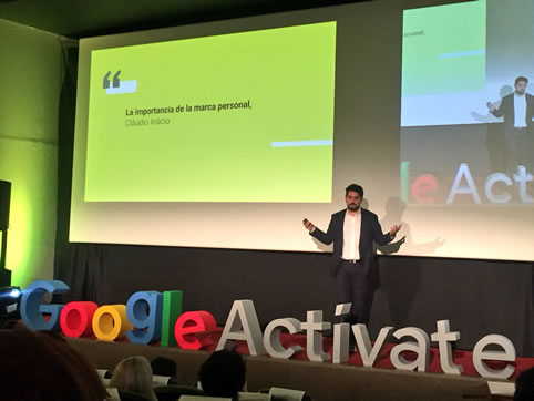 Claudio Inacio - Google Talks