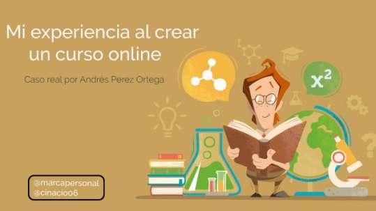 mi experiencia al crear un curso online