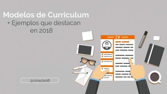 modelos de curriculum vitae destacados en 2018