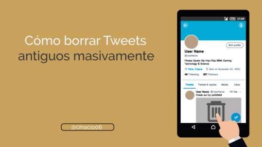 Cómo borrar tweets antiguos masivamente con herramientas gratis