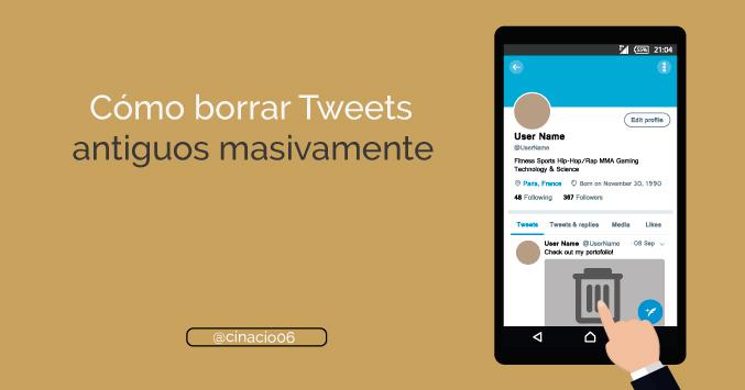El Blog de Claudio Inacio - Las mejores Herramientas para eliminar tweets masivamente