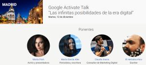 Speaker en Google Activate