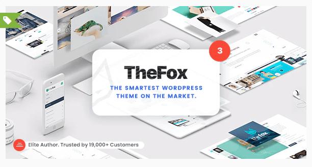 The Fox theme wordpress