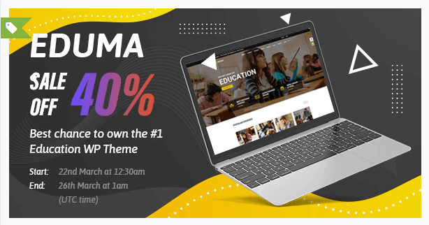 Eduma plantilla wordpress para crear escuela online