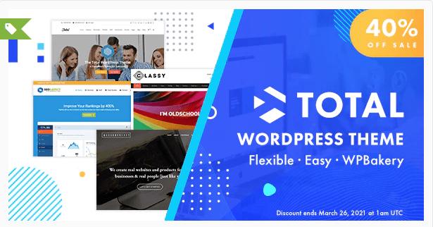 total theme wordpress