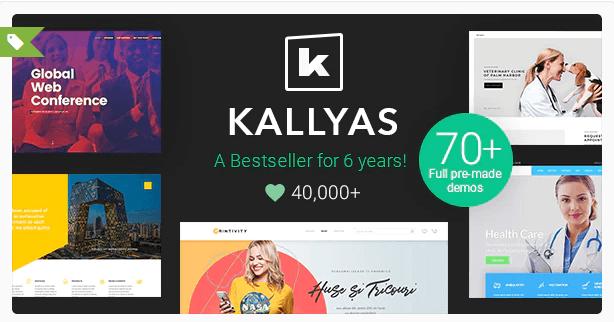 wordpress plantilla Kallyas