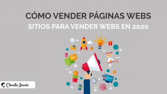 cómo vender páginas webs