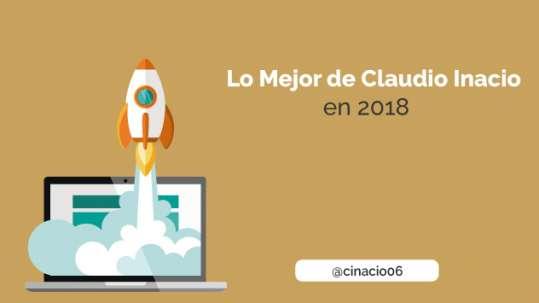 los mejores articulos de Claudio Inacio en 2018