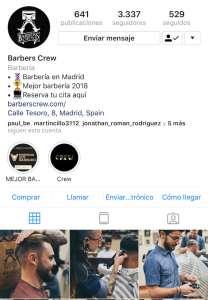 instagram barbers crew estrategia de marca personal barberos