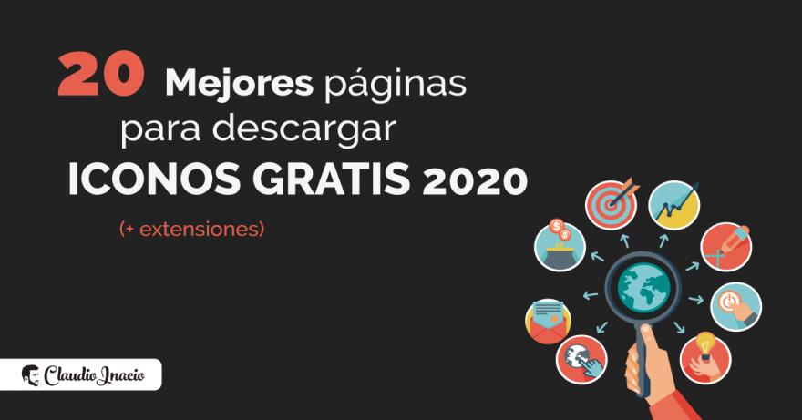 El Blog de Claudio Inacio - Mejores páginas de iconos para descargar pack de iconos gratis PNG, SVG y PSD en 2020