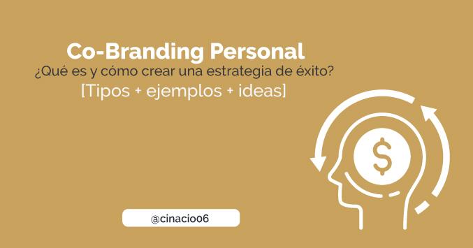 guia completa de Co-Branding Personal con ejemplos