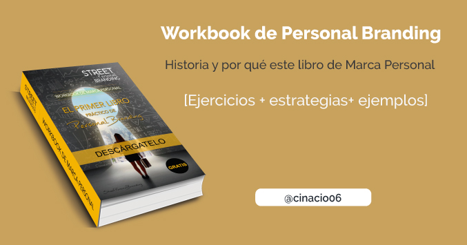 libro de marca personal - workbook de personal branding