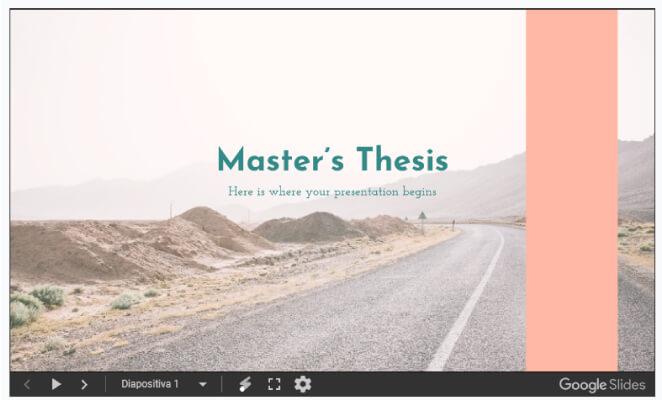 plantilla slides go Master thesis