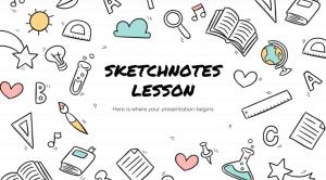 slidesgo plantillas sketchnotes