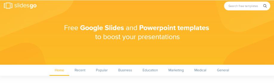 SlidesGo presentaciones de Google Slides y PowerPoint